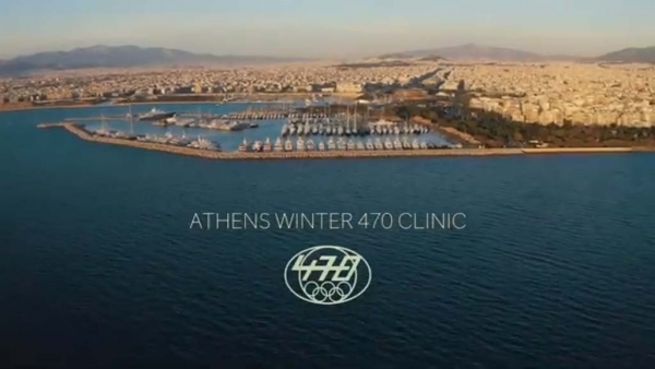 470 Olympic Sailing ATHENS WINTER CLINIC Dec 2018